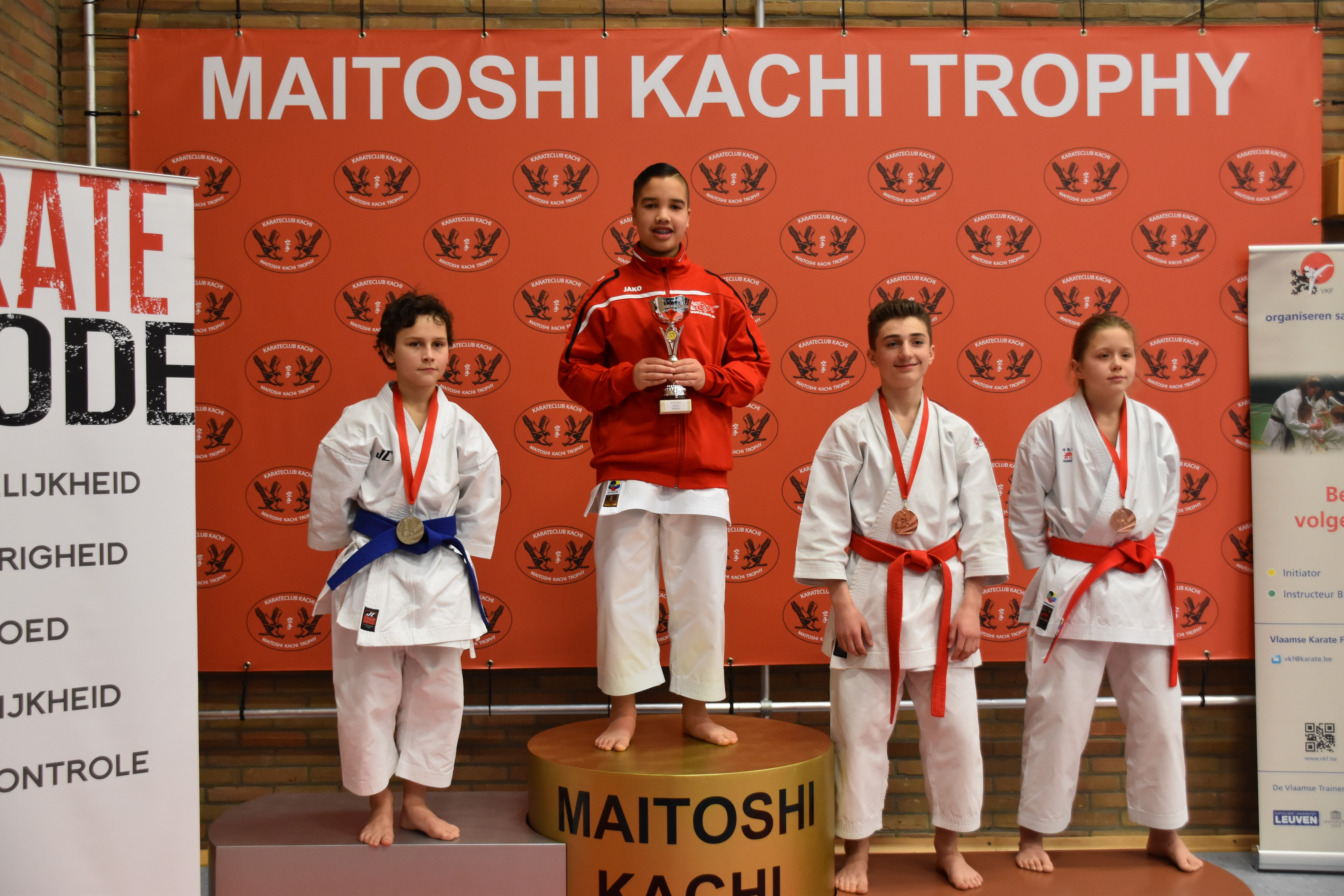 Maitoshi Kachi Trophy te Ninove/België