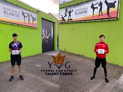 Twee van onze toppers gesponsord door Yvonne van Gennip Talentfonds.